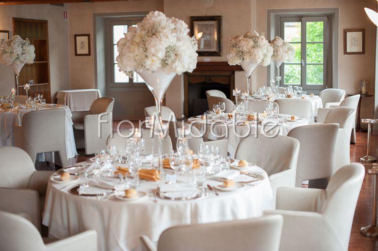 Wedding Reception In Italy Centerpieces Photos Ideas