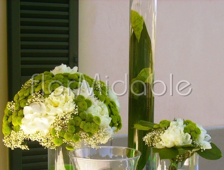 Wedding reception in Italy: centerpieces photos & ideas | Flormidable.