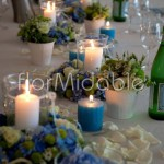 Beautiful shabby chic wedding table